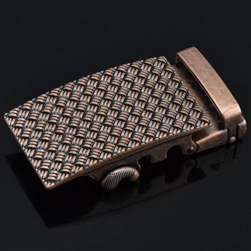 3.5cm Width Mens Belt Buckle Head High Quallity Zinc Alloy Buckle Genuine Leather Belt Men Luxury CE0201