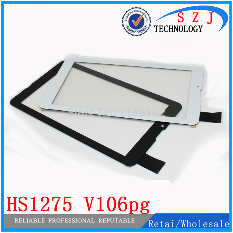 New 7'' Inch TEXET NaviPad TM-7049 3G TM7049 Tablet Touch Screen Digitizer Glass Sensor Replacement HS1275 V106pg Free Shipping