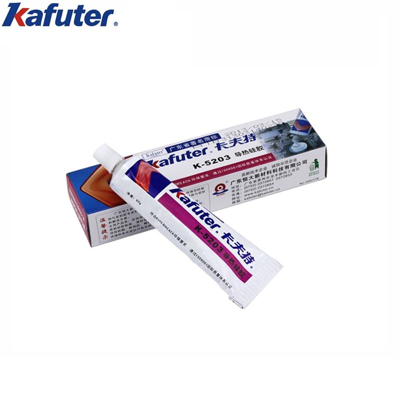 Kafuter White 80g Thermal Silica Gel for Filler bonding between CPU and radiator,high-power electrical module and radiator etc. аксессуар чехол для lg g7 thinq ultra zibelino thin case white zutc lg g7 wht