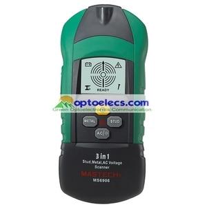Image 1 - Darmowa wysyłka MASTECH MS6906 3 w 1 Stud Metal AC napięcie skaner detektor Tester miernik grubości w/ NCV Tester + detektor drewna