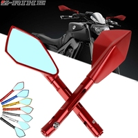 CNC Aluminum Side Mirrors Accessories Motorcycle Rearview Mirror For Honda CB300R CB650F NC700S/X/SA Hornet 900/CB900/919