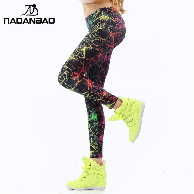 Women's New 3D Print Spandex Leggings