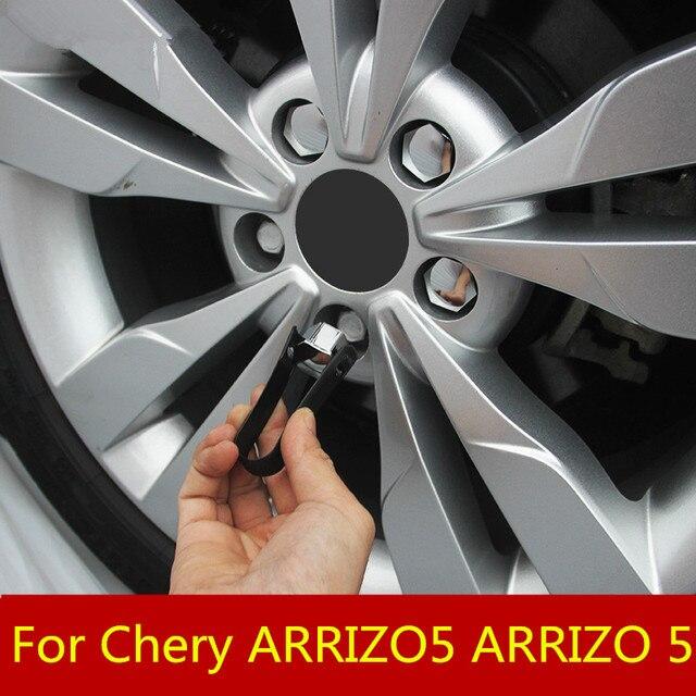 wheel hub screw protection cap dustproof rust cap screw silicone exterior decoration auto parts For Chery ARRIZO5 ARRIZO 5