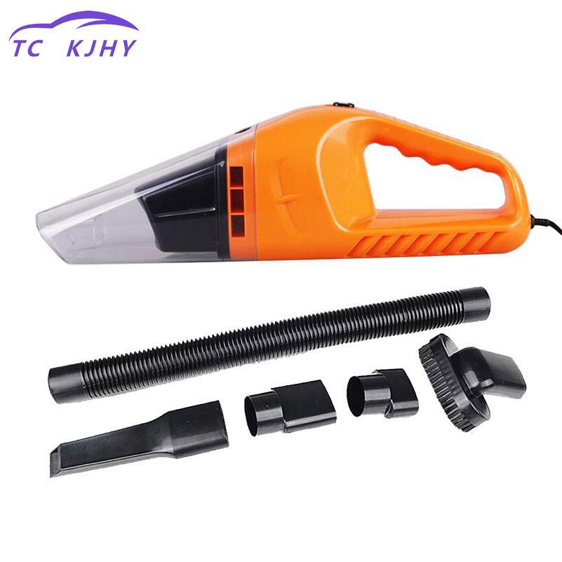 2018 Auto Car Vacuum Cleaner 120w Portable Handheld Vacuum Cleaner Wet And Dry Dual Use Car Vacuum Aspirateur Voiture 12v