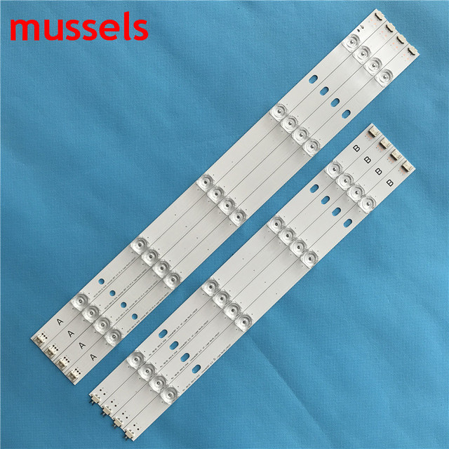 "LED Backlight strip For LG 47"" inch TV 9 Lamp innotek DRT 3.0 LG47lb5610 6916L 1715A 1716A LG47LY340C LG47GB651C 8 pieces / lot"