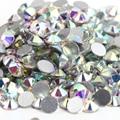 SS8 Кристалл AB цвет 1440 шт. Номера Для Исправления Стразами 2.3 мм бриллиант кристалл, прозрачный кристалл Ногтей Стразами
