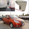 Loja de Apoio de Braço Central caixa de Armazenamento De conteúdo do carro com suporte de copo cinzeiro Acessórios para Chevrolet Aveo Lova 2010