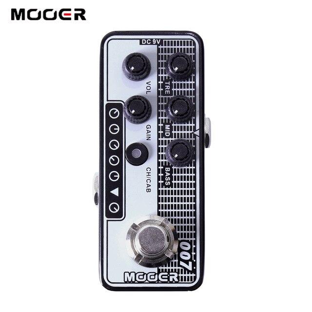MOOER MICRO Series 007 Regal Vintage Tone Digital Preamp Preamplifier GuitarMOOER MICRO Series 007 Regal Vintage Tone Digital Preamp Preamplifier Guitar