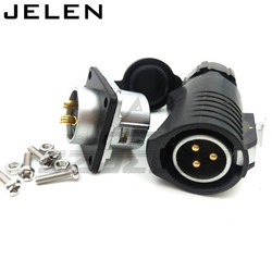 XHE20, IP67 3pin Waterproof connectors, LED power cable connector male and female, Automotive Connectors 3pin plug and socket
