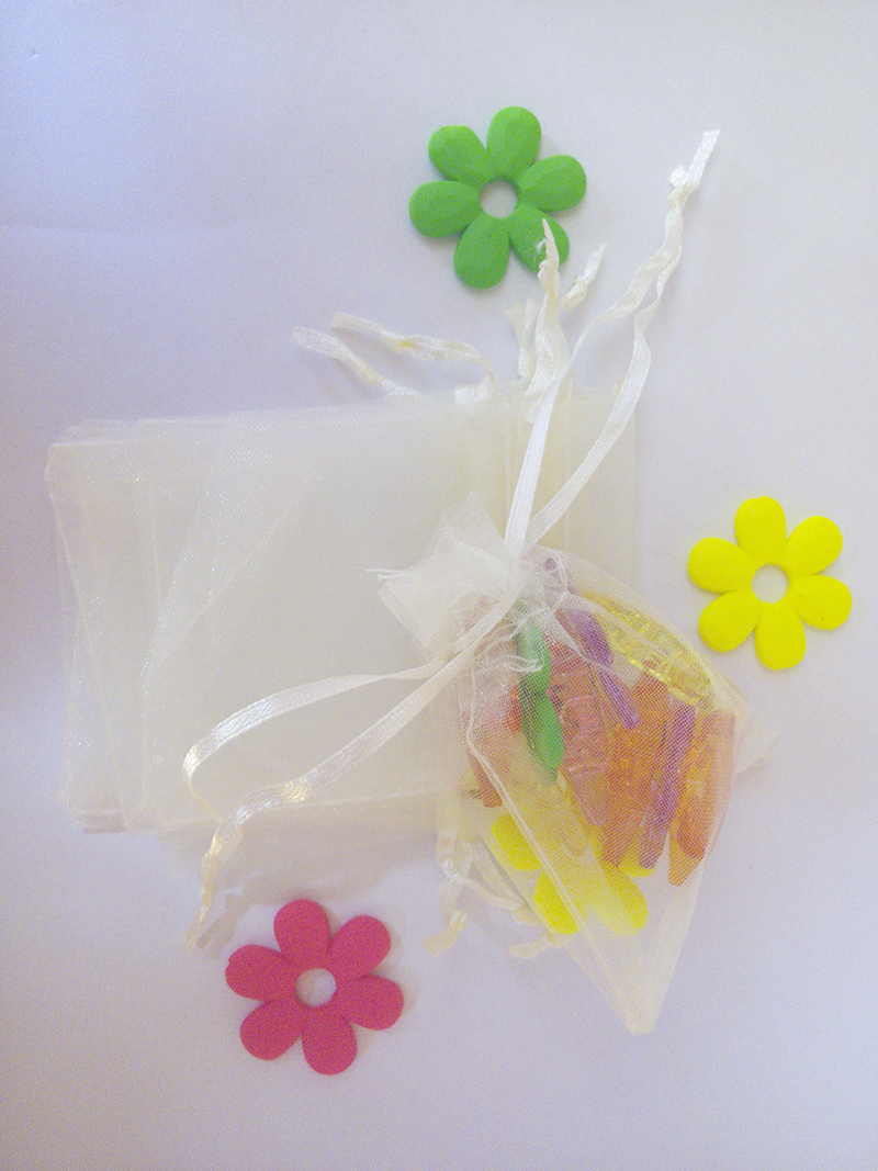 17*23 2000pcs Organza Bag Beige Drawstring bag jewelry packaging bags for tea/gift/food/candy small transparent pouch Yarn bag