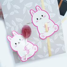 new 50pcs lollipop cover Pink rabbit design children birthday wedding candy decorate holiday Christmas gift packaging
