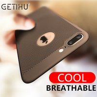 For Apple iPhone 7 6 6s Plus Luxury Protection Mobile Phone Case Capa Cover Coque + Ultra Thin Protective iPhone6 iPhone 7 Case