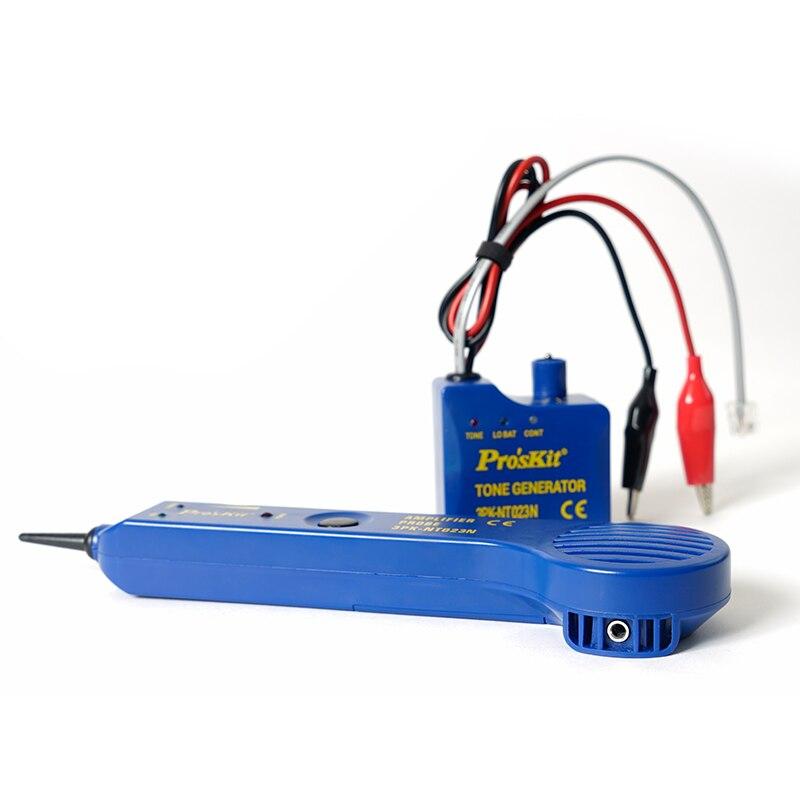 Proskit D'appel VoIP Finder Checker Audio Pause Câble De Testeur De Disjoncteur De Patrouille