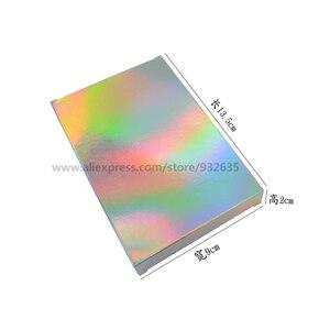 Image 3 - Голографическая коробка для подарков, 50 шт., вечерние коробки для бумаги, чехол для лазерной карты, коробки для подарков, косметика, посылка, коробки для конфет, свадебные любимые