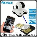 Casa de segurança câmera ip do cartão sim