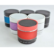 New Mini Wireless Metal Portable Bluetooth Speaker LED Dancing Music Sound Box Player Built in Mic MP3 Subwoofer Speakers