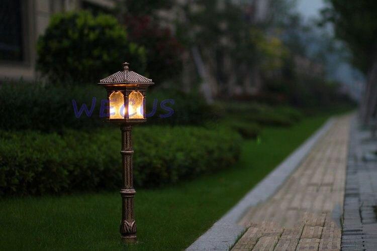 ao ar livre luxo antigo luzes de