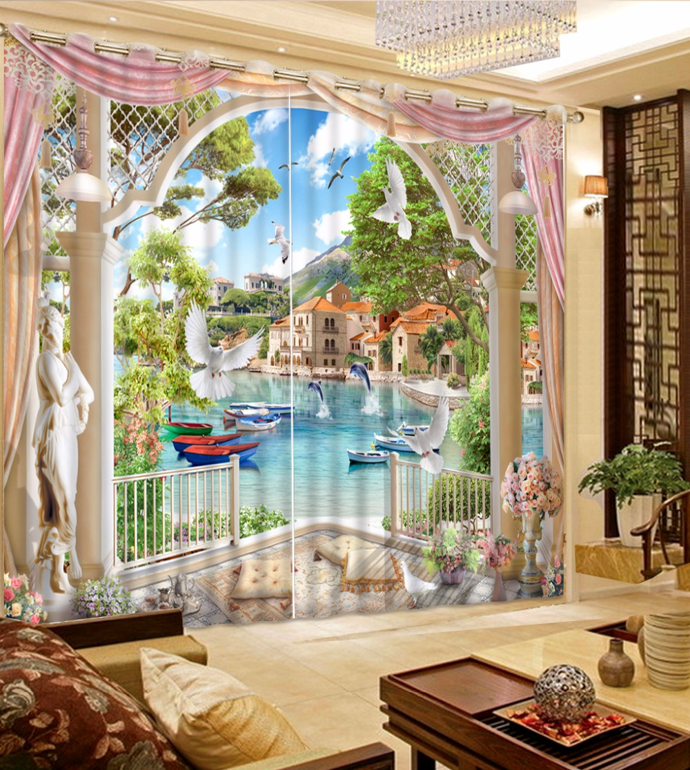 2017 Modern Home Decor Curtains Beautiful Sheer Curtains ... on Beautiful Bedroom Curtains  id=84913