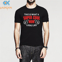 Fashion This Is Supercool Mom Looks Like Funny Juniors T Shirt Mothers Day Gift Men Women