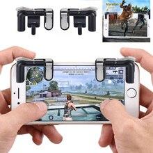 Купить с кэшбэком Portable Game Trigger Fire Button Smartphone Mobile Joystick Game L1 + R1 Shooter Controller PUBG / Survival Rule / Arbor Output