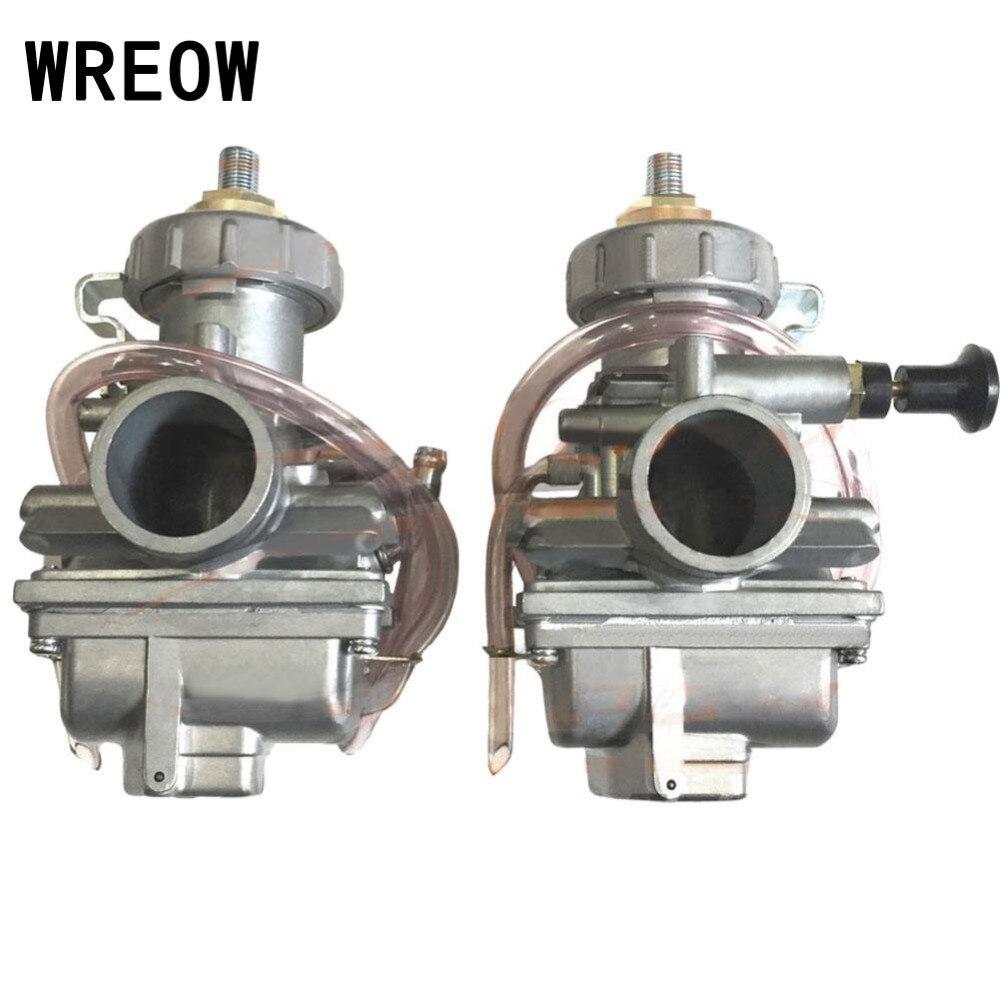 Новый Карбюраторы для мотоциклов для 350 1987 2006 350 правой Левая сторона carb + топливный фильтр Мощность инструмент Аксессуары Двигатели для авт