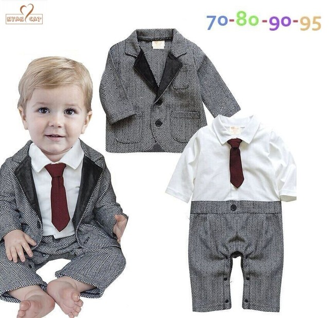 f14d098a05b4 NYAN CAT Baby boy clothes Gentleman Bow tie Romper Coat outfit ...