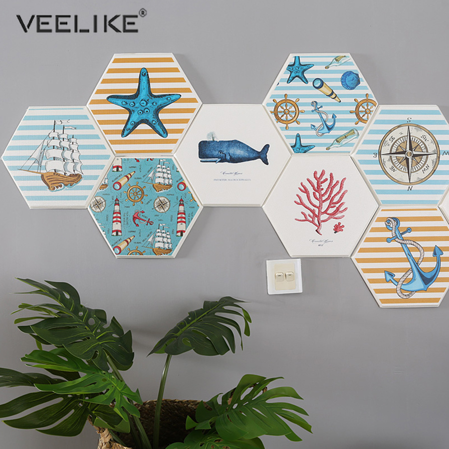Us 499 40 Offnew Popular Beautiful Wallpaper For Living Room Kids Room Library 3d Self Adhesive Contact Paper Ocean Style Home Wall Art Mural In