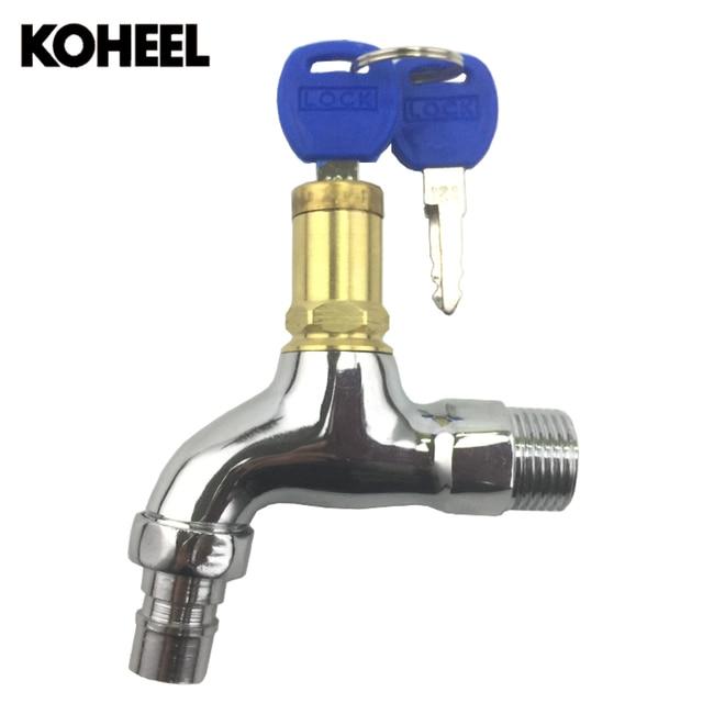 עדכני Bibcocks פליז באיכות גבוהה חיצוני מים ברז 1/2 אינץ עם מנעול ברז HA-39