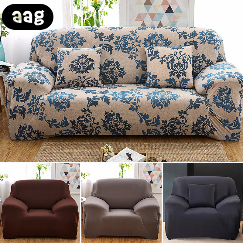 Elastic 3D Digital Printing Couch Sofa Slipcover Tight Wrap for Living Room