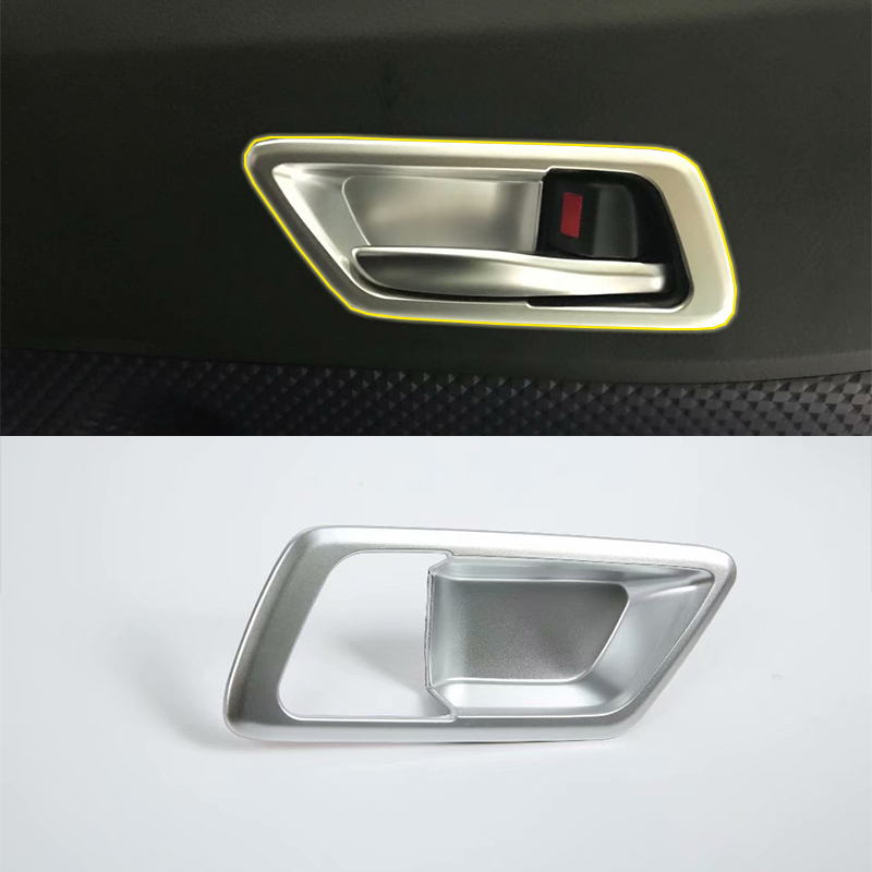 ABS matte Interior door handle  cover 4pcs Car Styling For TOYOTA CH-R 2018