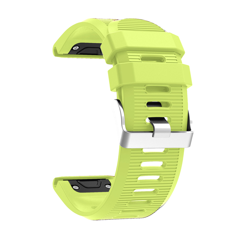Bemorcabo Soft Silicone Wristband Replacement Strap with Quick Release Connectors for Garmin Fenix 5X/Fenix 3/Fenix 3 HR Watch cactus cs s1630