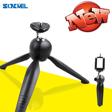 YT 228 YUNTENG 228 Mini Tripod+Phone Holder Clip Desktop Tripod For SLR/Digital Camera Smartphones Mirrorless System Camera