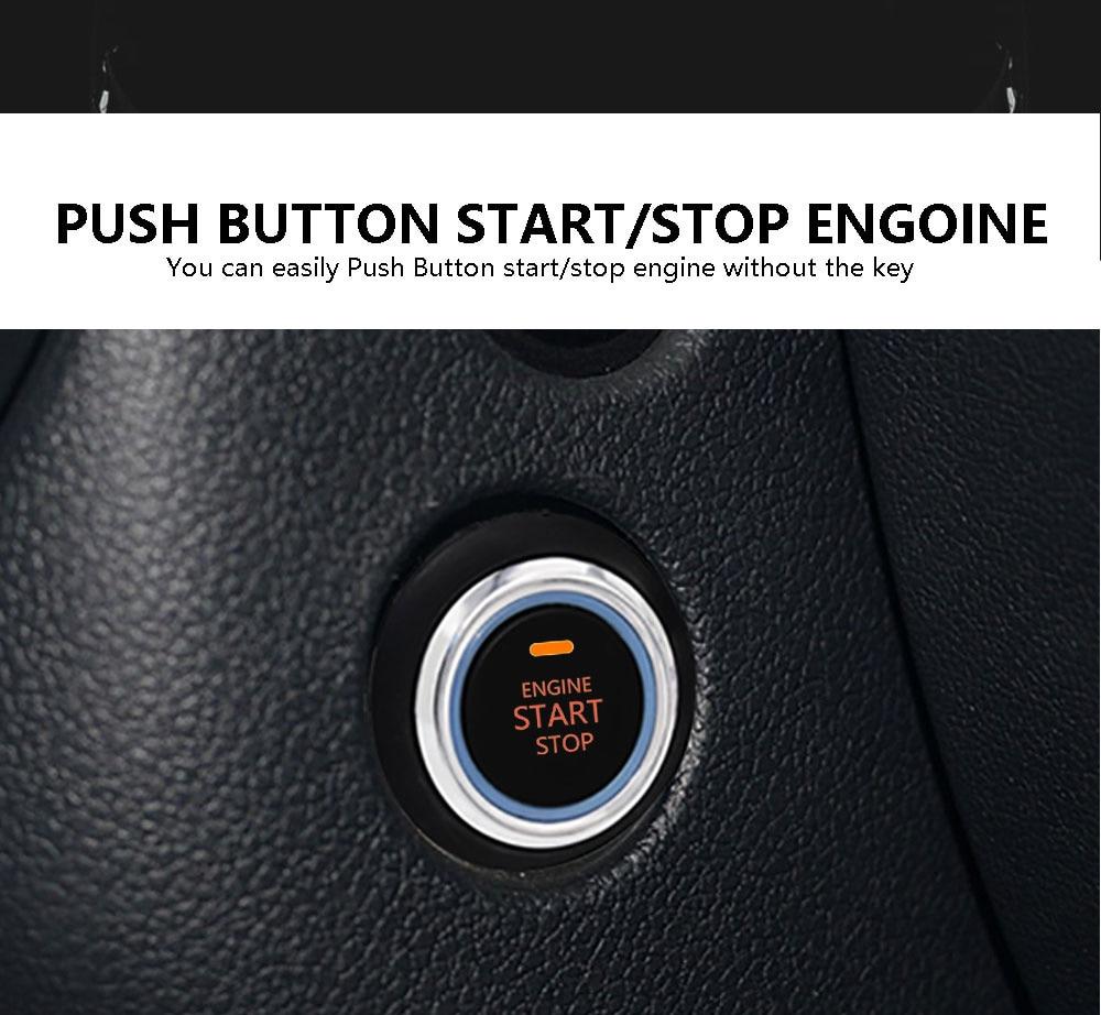 Car Alarm Start Security System Immobilizer Rfid Keyless Startpush Price Wireless Relay Fuel Pump Circuit Cut Off 84
