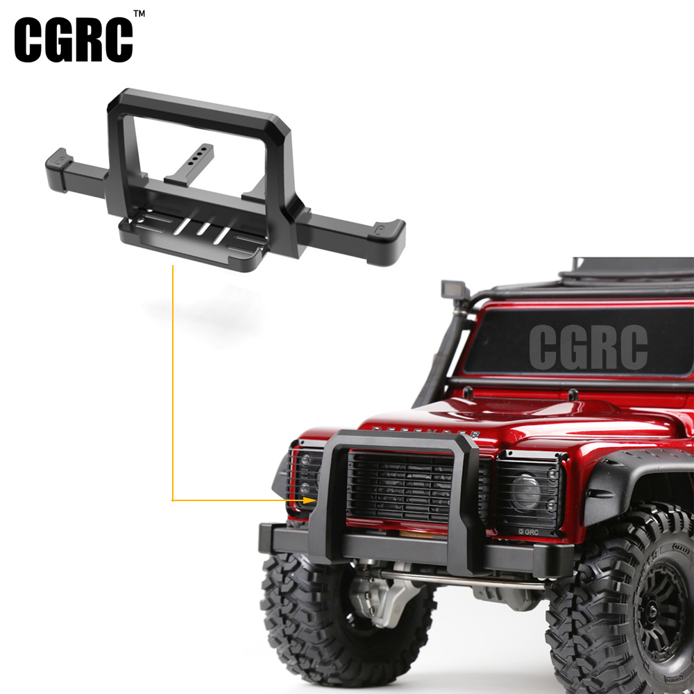 TRX4 Metal Front Bumper for 1:10 RC Crawler Traxxas TRX-4 TRX 4 Upgrade Car Parts classic trx4 metal front bumper for 1 10 rc crawler traxxas trx 4 trx 4