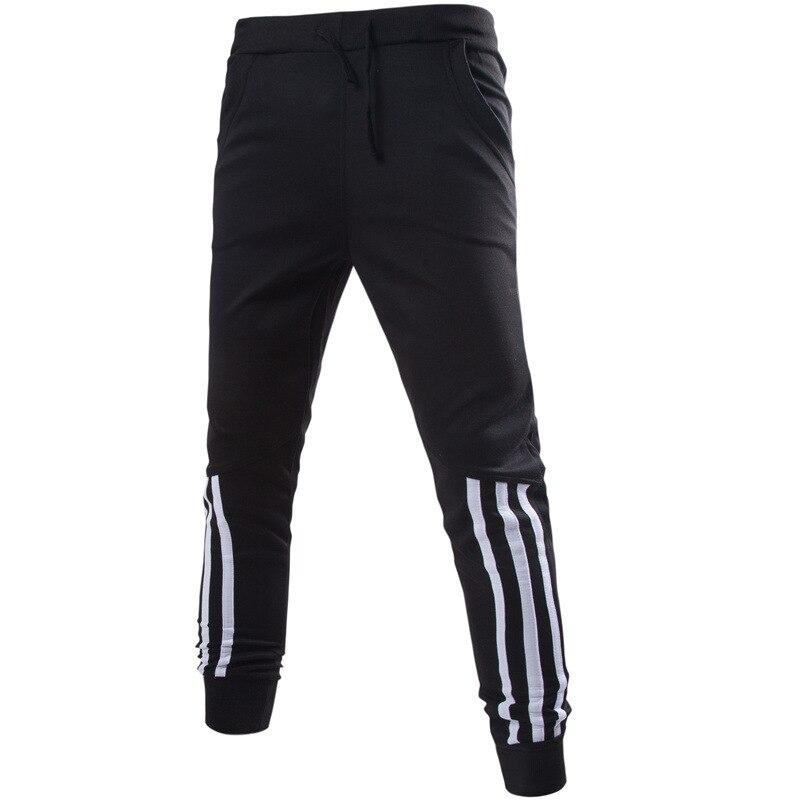 2017 Mens Joggers Sweatpants for Men 100% Cotton Jogger Pant SweatPants Plus Size Grey or Black Jogger Pant Lightweight
