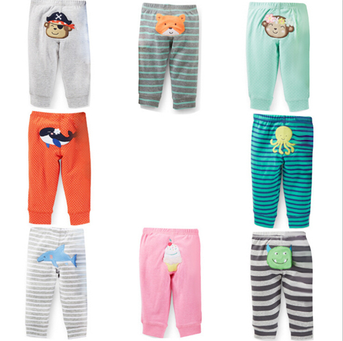 Free shipping 2017 spring summer big PP cotton harem pants, baby pp trousers, 5 peiece/lot