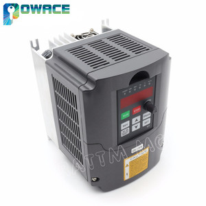"Image 4 - [משלוח איחוד אירופי/משלוח מע""מ] 3KW תדירות משתנה כונן VFD מהפך инвертор 220V 4HP פלט 3 שלב 13A & 2M הארכת כבל"