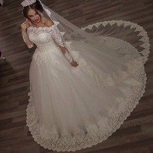 kissbridal Wedding Dresses Bride Dress Long Sleeve