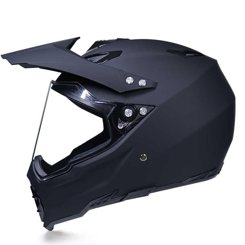 Dirt Bike Helmet With Visor >> Detail Feedback Questions About Motorcycle Helmet Atv Dirt Bike