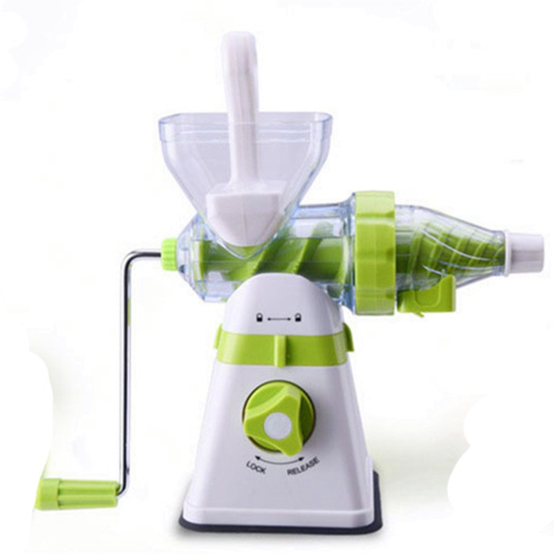 Exido Slow Juicer Manual : Portable Juicer Manual Slow Extractor Blend Fresh Health Apple/Orange Juicer Machine Corn ...