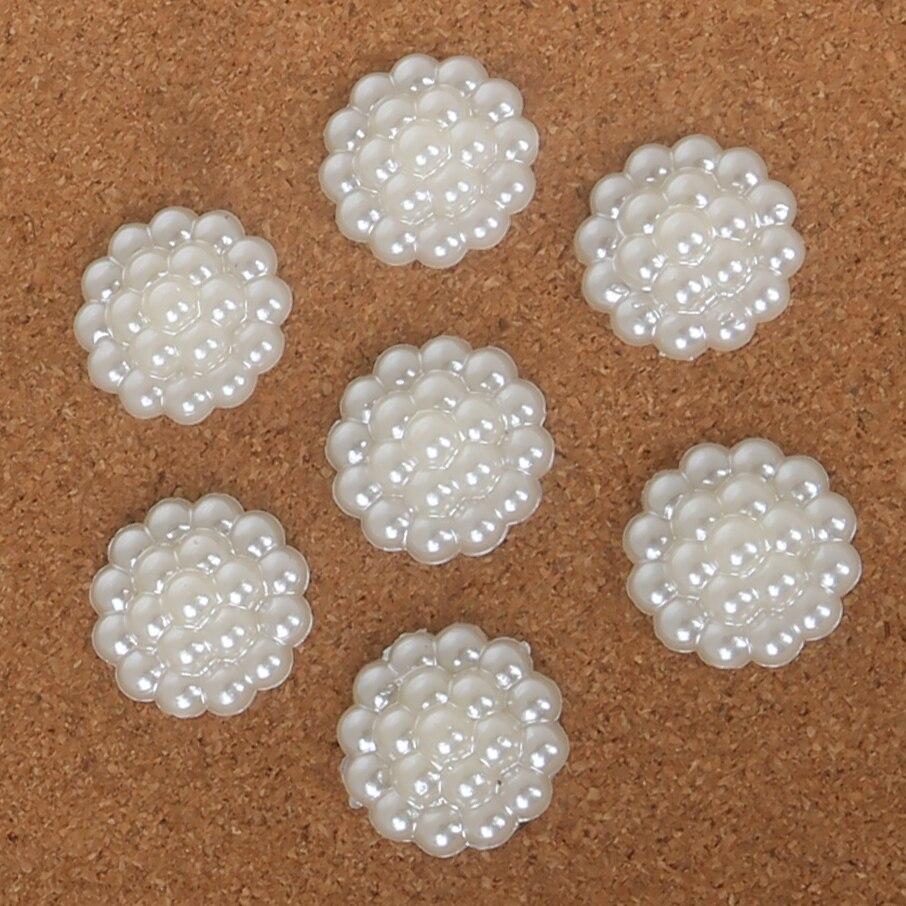 Высокое качество мм 16 мм 20 22 мм ручной работы белый ABS искусственный жемчуг Будда бусины для DIY ювелирных изделий