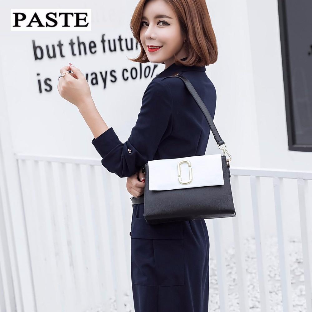 Cowhide Genuine Leather Women Messenger Bags bolsa feminina top selling high quality handbag fashion Lolita style for girls 2018