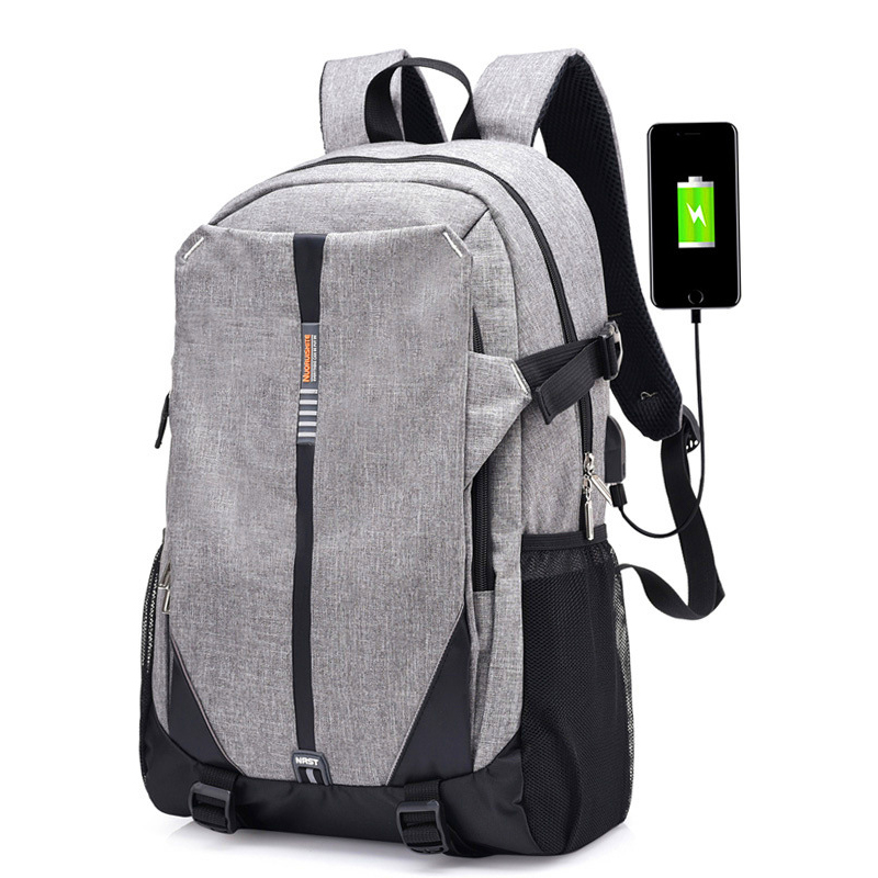 2018 High School Bags for Teenage Book Bag Teen Canvas Men Backpack Cool Boys girls USB Schoolbag Male Back pack Laptop Women