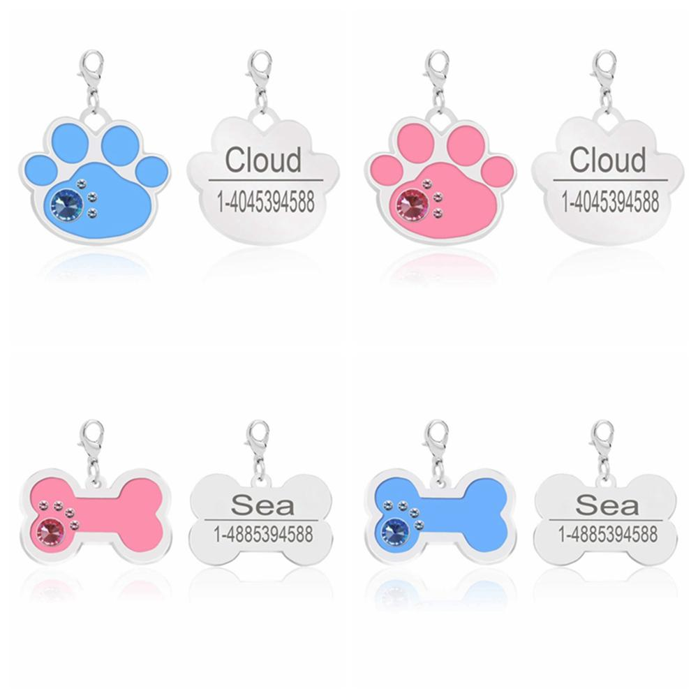 Custom Personalized Pet ID Tag for Dog Collars GOOD GIRL JACK RUSSEL TERRIER