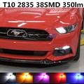 For Ford Mustang GT accessories 2015 up 2 Bulbs Xenon White High brightness high-power LED Clearance Lights Marker lamps