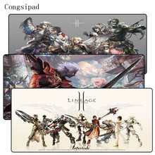Congsipad lineage 2 Extra Large Mouse Pad Gaming Mousepad Anti-slip Natural Rubber Mat with Locking Edge For CSGO