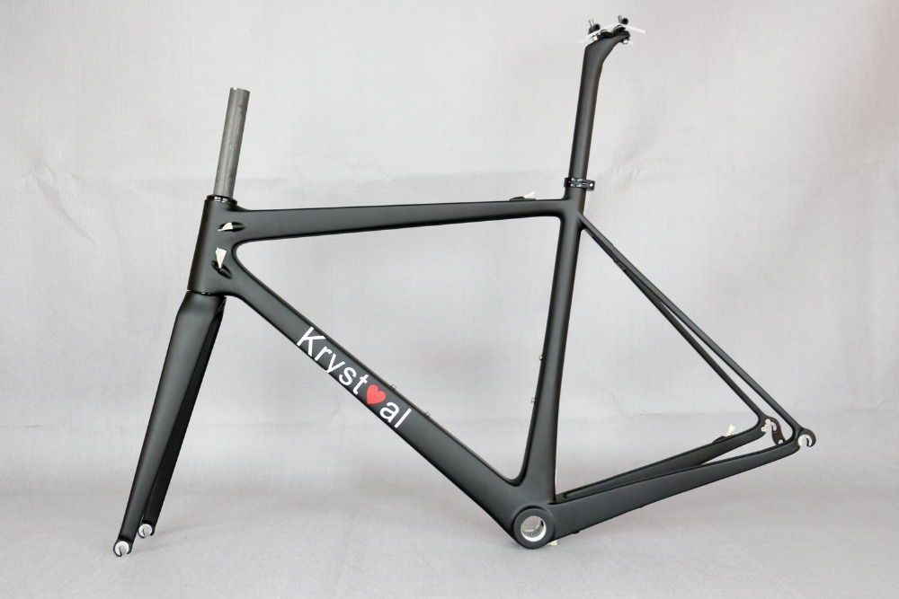 700C ロードバイク炭素繊維ステレーシング自転車フレーム、受け入れる塗料カーボンフレーム、今カスタム手数料フレーム、 OEM 英国の有名なフレーム  グループ上の スポーツ & エンターテイメント からの 自転車のフレーム の中 1