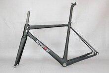 700C Road Bike Carbon Fiber Stiff  Racing Bicycle Frame , accept paint carbon frame , now custom fee frame , OEM uk famous frame