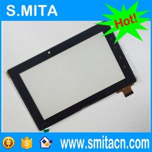 7 cal tablet pc ekran dotykowy panel DR1551-A dla Freelander PD10 PD20 pojemnościowy ekran