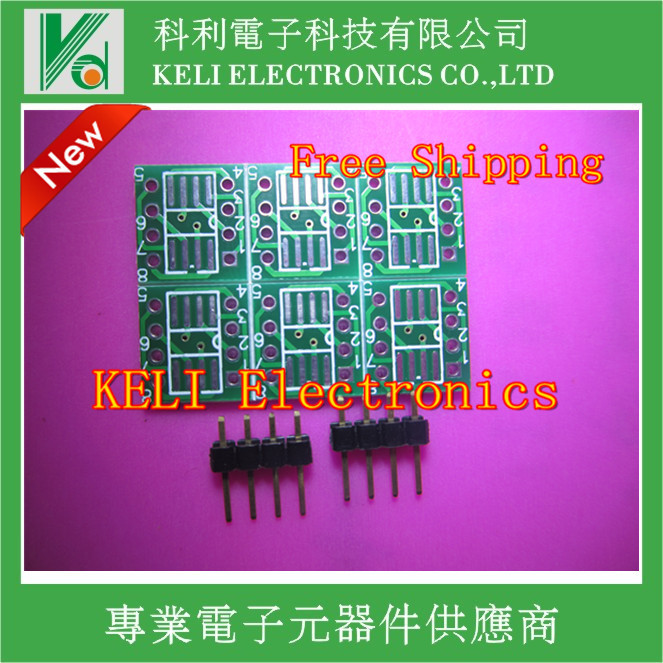 10PCS/LOT MSOP / SOIC / TSSOP SOP8 turn DIP8 IC adapter Socket / Adapter plate / PCB PB-FREE 100%New Original g884brmz g884 s9c msop 10